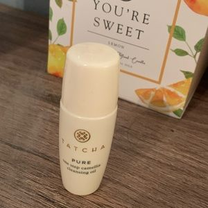 Tatcha one step cleaning oil